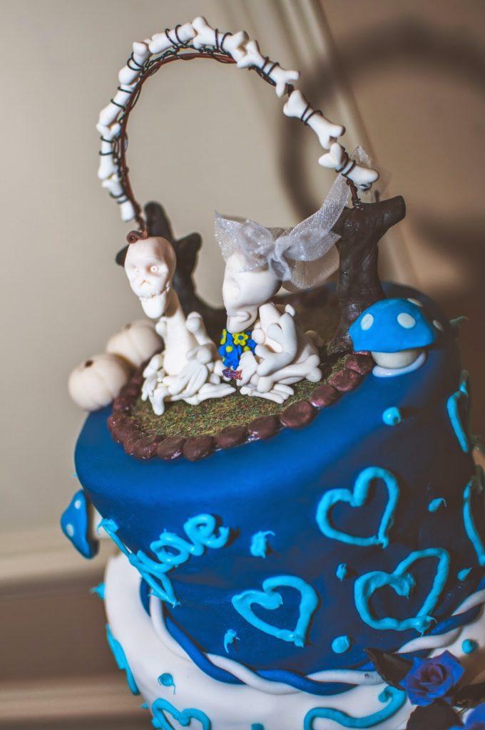 wedding topper polymer clay art