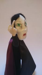 Dracula art doll