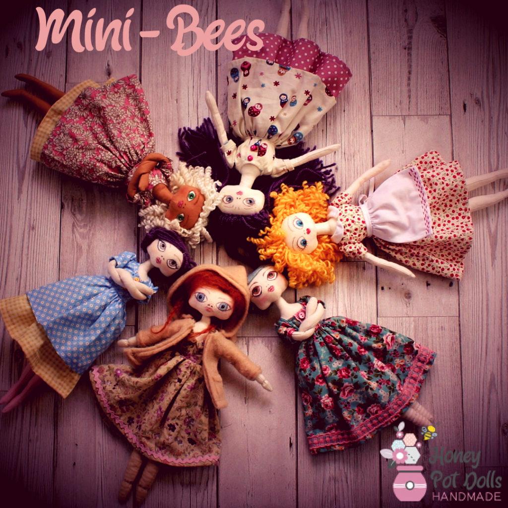super cute cloth dolls