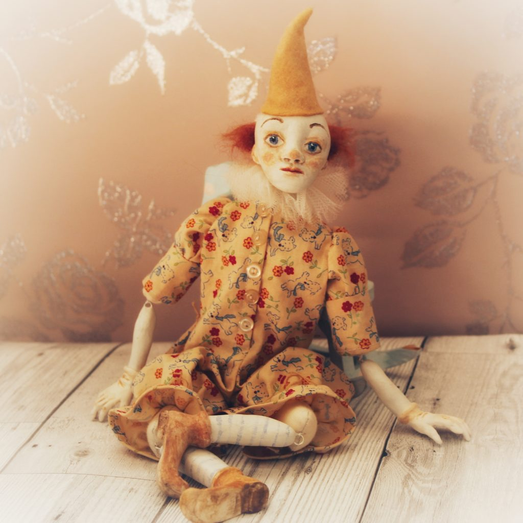 clown art doll