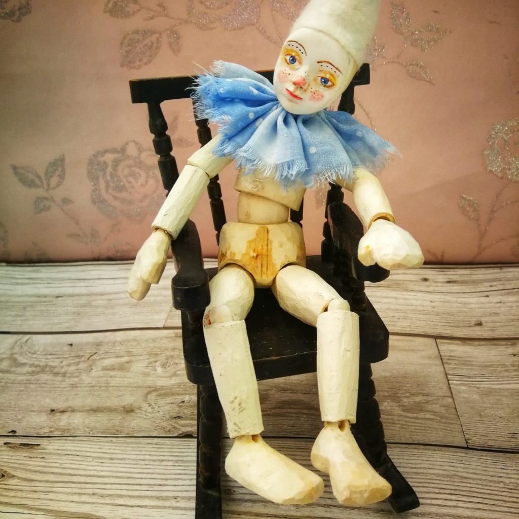 Wooden Ball jointed Doll