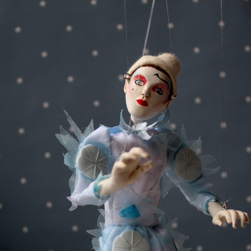 Starman inspired art doll puppet