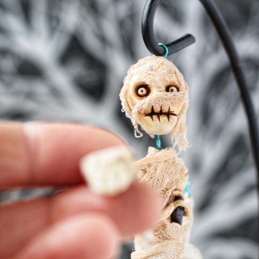 skeleton jointed art doll