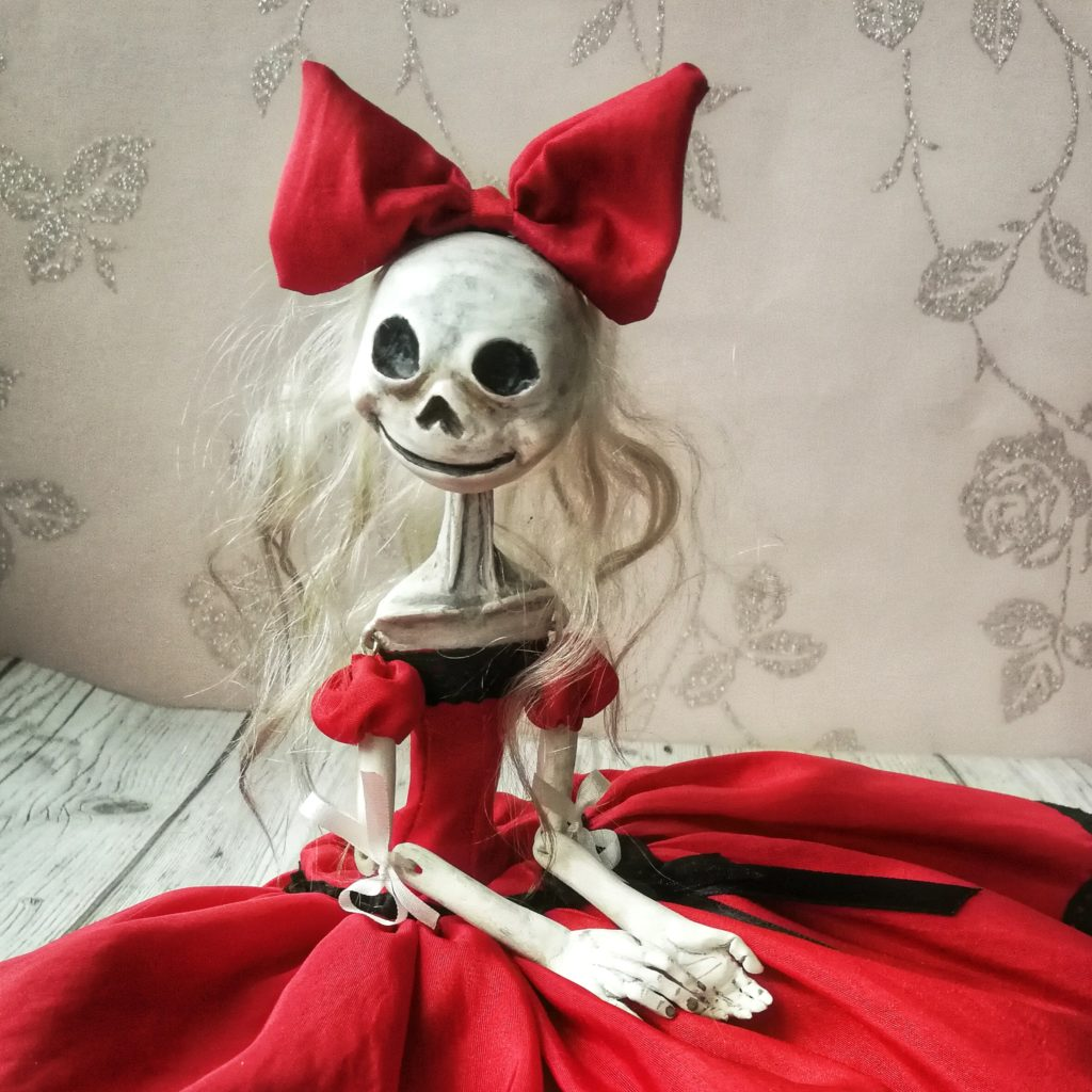 Princess - ribbon jointed art doll