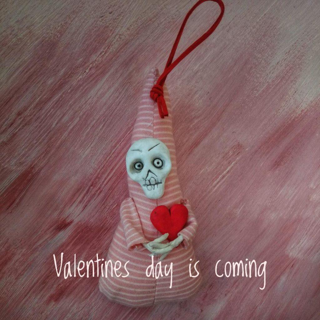 Cute creepy art doll