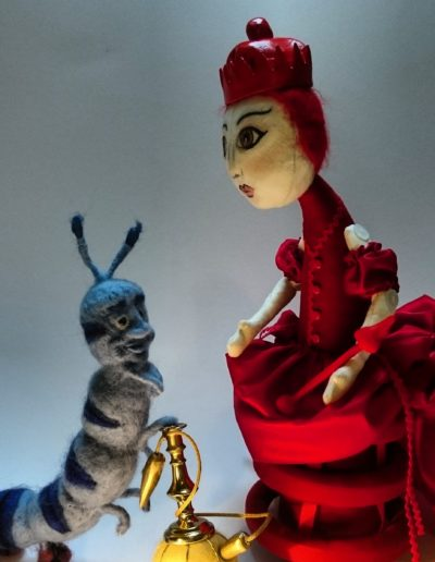 The Red Queen and the caterpillar