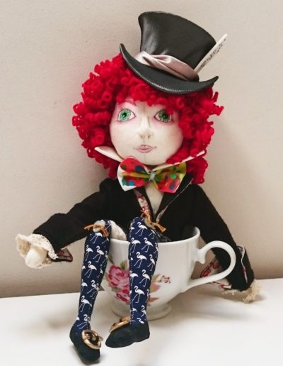 The Mad Hatter Art doll