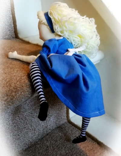 Cloth Art doll Alice