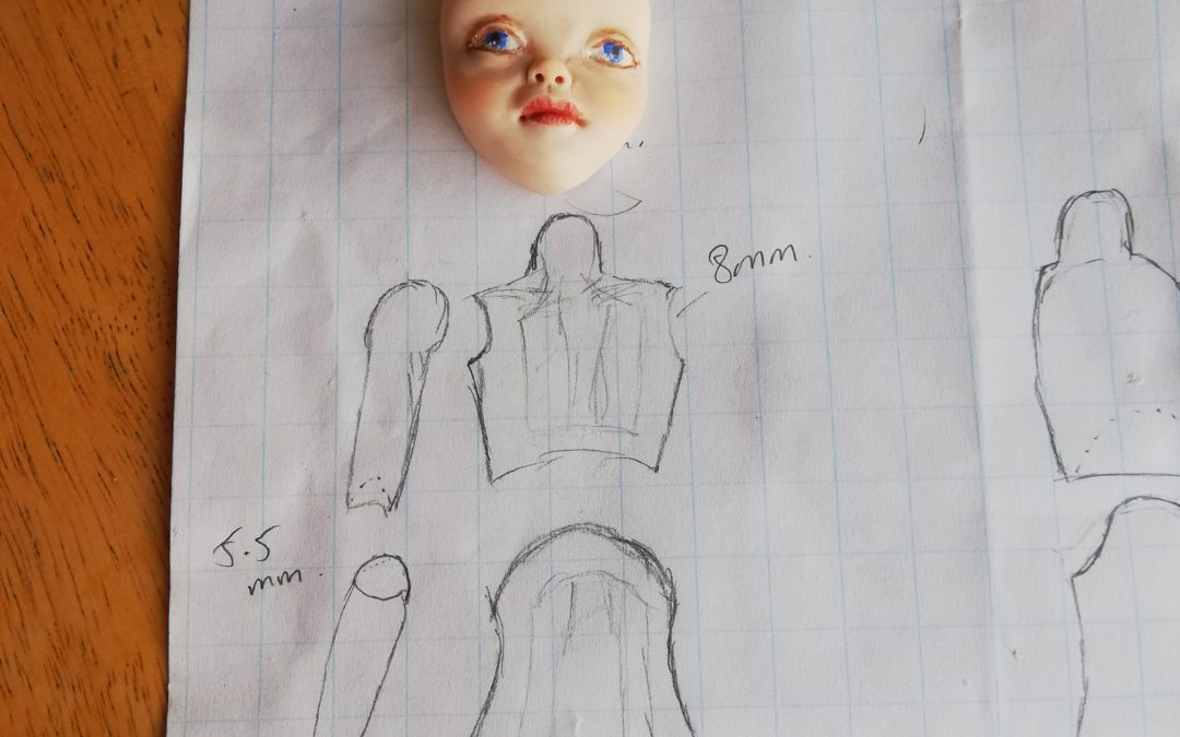 Designing a Ball Jointed Doll