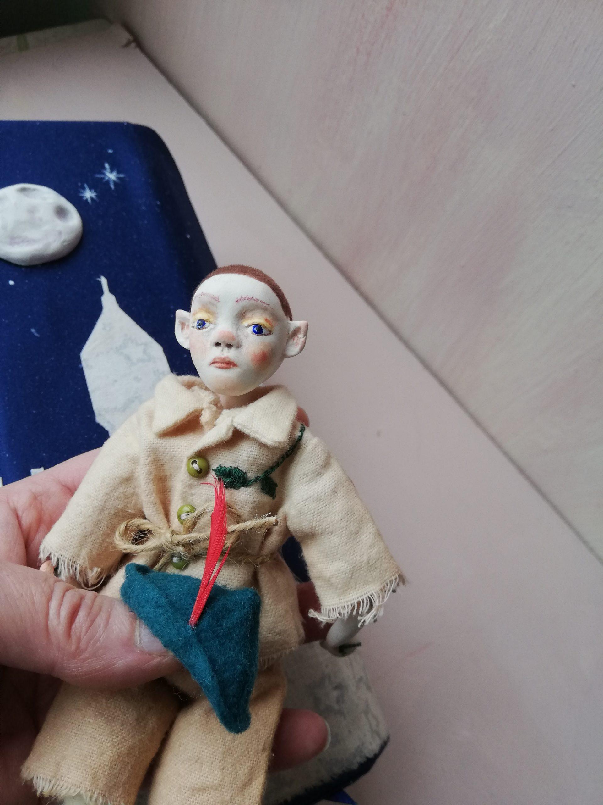Peter Pan Art doll