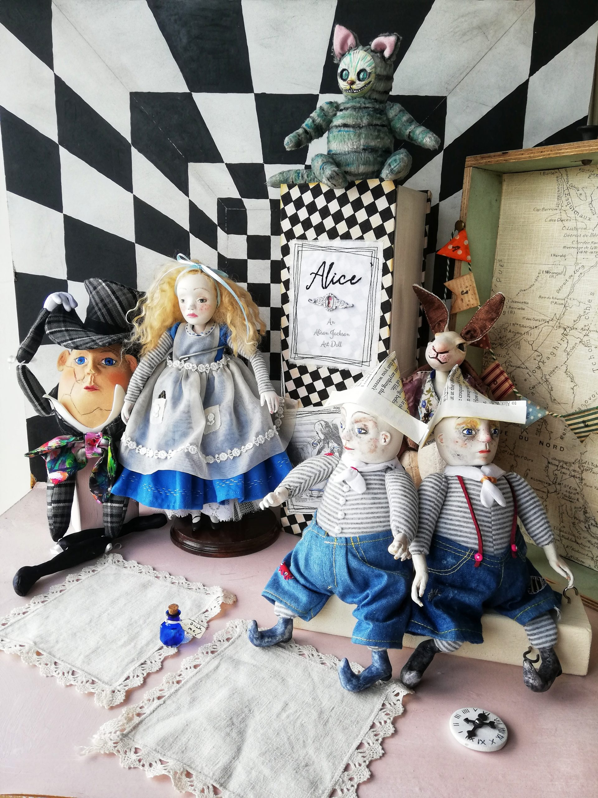 Alice and Wonderland Characters