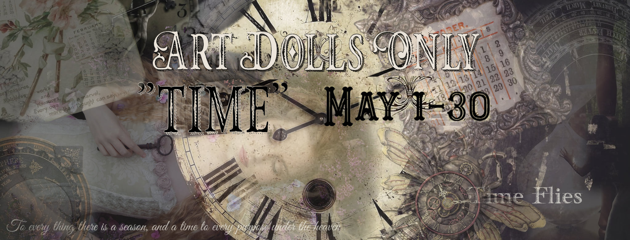 Art Dolls Only time banner