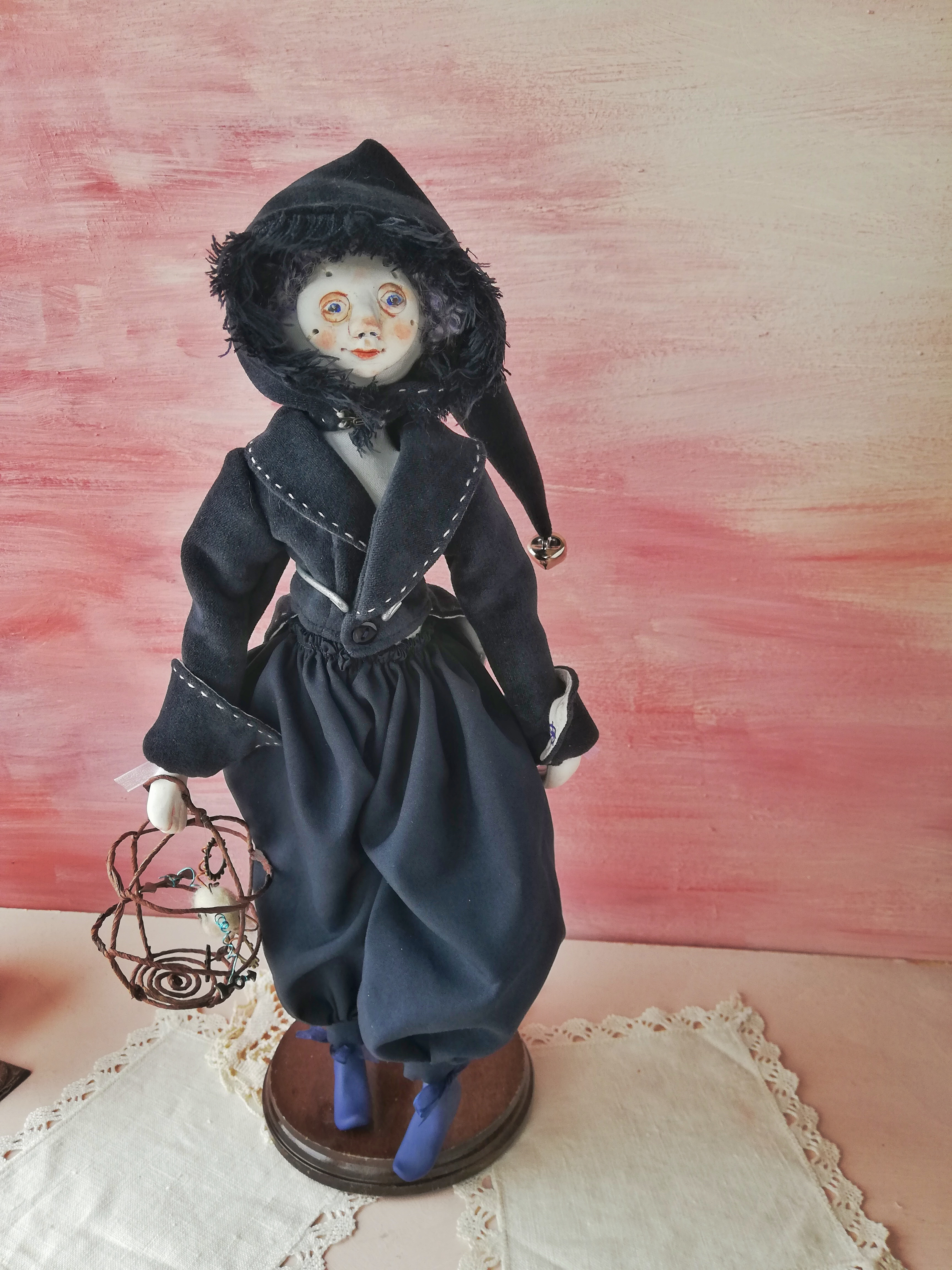 The time keeper art doll